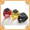 底が付いている超低価の腕時計の携帯電話、コンパスが付いている多機能の携帯電話の腕時計