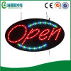 Forma Oval Luminoso Animated Acrílico Abrir LED Signage (HSO0001)