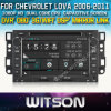 Chipset 1080P 8g ROM WiFi 3G 인터넷 DVR Support를 가진 Chevrolet Lova를 위한 WITSON Car DVD Player