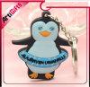 Chaîne principale de PVC de forme de pingouin de modèle