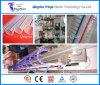 Линия штрангя-прессовани шланга стального провода PVC пластичной машины спиральн усиленная