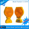 6PCS Licht van de LEIDENE Waarschuwing van het Verkeer het Zonne (s-1324)