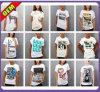 T-shirt impresso da forma algodão sexy para as mulheres (W265)