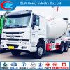 6X4 6 Cbm 8 Cbm HOWO de Concrete Vrachtwagen van de Mixer van de Doorgang