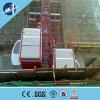 com o motor dos bens dos construtores do Ce/elevador do edifício