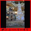 옥외 백색 PVC 인공적인 훈장 거대한 크리스마스 나무