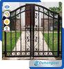 Puerta de seguridad única del hierro labrado de Resisdential (dhgate-18)