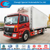 Foton 4X2 Refrigerator Truck per Frozen Seafood in 2016