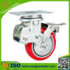 Schlag Absorption Caster Wheels mit Total Brake
