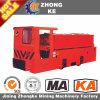 Locomotora eléctrica de la batería Cty8/7g-132 para el equipo de potencia subterráneo de la mina de carbón