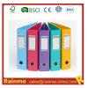 PVC colorido 2 arquivo da alavanca do arco do tamanho de '' 3 '' A4/FC