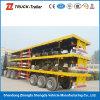 3 Radachse 12sets Container Twist Locks Plateform Semi Trailer mit Factory Price auf Hot Sale