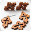 Small all'ingrosso Wall Decor Wooden Crosses per Decoration (IO-cw004)