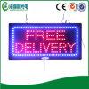 Do sinal livre da entrega do diodo emissor de luz painel aberto do sinal da exposição de diodo emissor de luz do sinal do diodo emissor de luz (HSF0075)