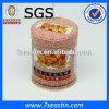 Коробка олова /Wholesale поставщика жестяной коробки /Candy изготовления жестяной коробки круглая