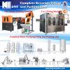 Neues automatisches Wasser-Getränkefüllende abfüllende Verpackungsmaschine-Zeile Pflanzeninstallation beenden