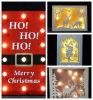 メリークリスマス装飾的なライトXmas LEDの壁ライト