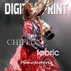 Concevoir la copie en fonction du client sur la mousseline de soie en soie Chiffon du tissu 100% (M027)