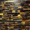 Azulejo de la pared del ojo del tigre, azulejo de mosaico de la encimera