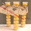 Caramella di plastica dei contenitori del tubo dell'animale domestico trasparente