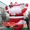 Inflatable fonctionnant le père noël pour Building Decoration