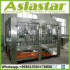 Linha de produção automática máquina do vinho do frasco de vidro de enchimento líquida do álcôol