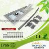 Highg 루멘 고품질 한세트 LED 태양 가로등 25W