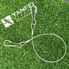 Honda de la cuerda de alambre de los Ss 304 con el gancho de leva suave del simplex del ojo