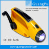 Solarkurbel-Emergency Radio mit greller Sirene (GP-A3006E1)