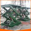Table élévatrice électrique hydraulique de ciseaux de bonne qualité mini à vendre