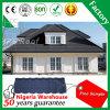 Qualité 50 ans de garantie de pierre de couche de feuilles ondulées galvanisées par feuille de toiture