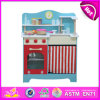 Kids, Children, Sale W10c099를 위한 Wooden Toy Role Play Toy Kitchen를 위한 Top New Kitchen Toys를 위한 최신 Pretend Play Kitchen Toy Set