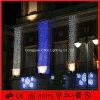 Luzes de Natal decorativas da cortina do diodo emissor de luz da alameda de compra para a parede