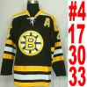 Bianco giallo nero Bergeron della Jersey Bobby Orr Lucic del hokey di ghiaccio