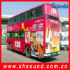 نفس رماديّة لصوق فينيل حافلة تغطية ([سف120])
