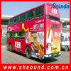 Graue selbstklebende Vinylbus-Abdeckung (SAV120)