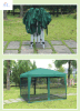 Hz-Zp85 3X3m (10X10FT) Canopy con Net, Hot Seel Tent con Mosquito Net, Good Quality, Gazebo con Mosquito Net
