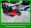 Nuovo Design 18HP Cheap Two Wheel Walking Tractor da vendere