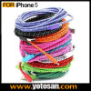 3m Long Braided Charging USB Data Cable pour l'iPhone 5