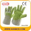 Винил Искусственная кожа Промышленная безопасность Рабочие перчатки (41015)