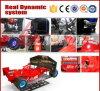 Machine dynamique de jeu de voiture d'emballage d'arcade des courses d'automobiles Simulator/3D