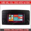 Reprodutor de DVD especial de Car para MB Ml-Gl 350-450 W164 (CY-9305)