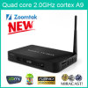 Tevê Box de Core do quadrilátero de Amlogic S802 4.4, Support 4k com a tevê 13.1 de Xbmc Full Loaded Gotham Android Live Box