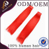 Peruivan Red Color Full와 Peruvian Human Straight Hair Weaving