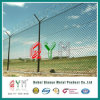 Link de cadena Fence con el De púas-alambre en Top/Wire Mesh con Razor Wire