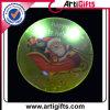 父のクリスマスのロゴのLEDボタンのバッジ