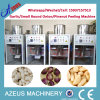 150kg/H Stainless Steel Dry Small Round Onion Peeling Machine