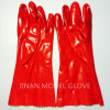 PVC Dipped 35cm Working Glove Certificated Fully CE