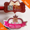 Romance e Sweety Design Pink Adhesive Label