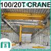 2016년 Shengqi 100/20 톤 Qd 유형 두 배 대들보 천장 기중기